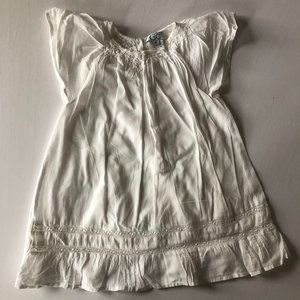 C de C white cotton summer dress